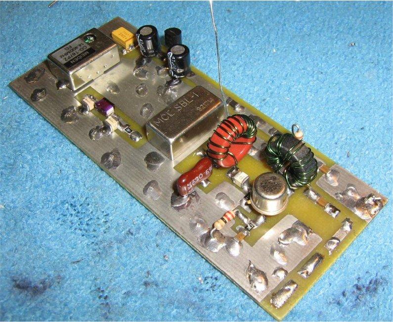 Oscilador de 28.8MHz a partir de uno de 14.4MHz