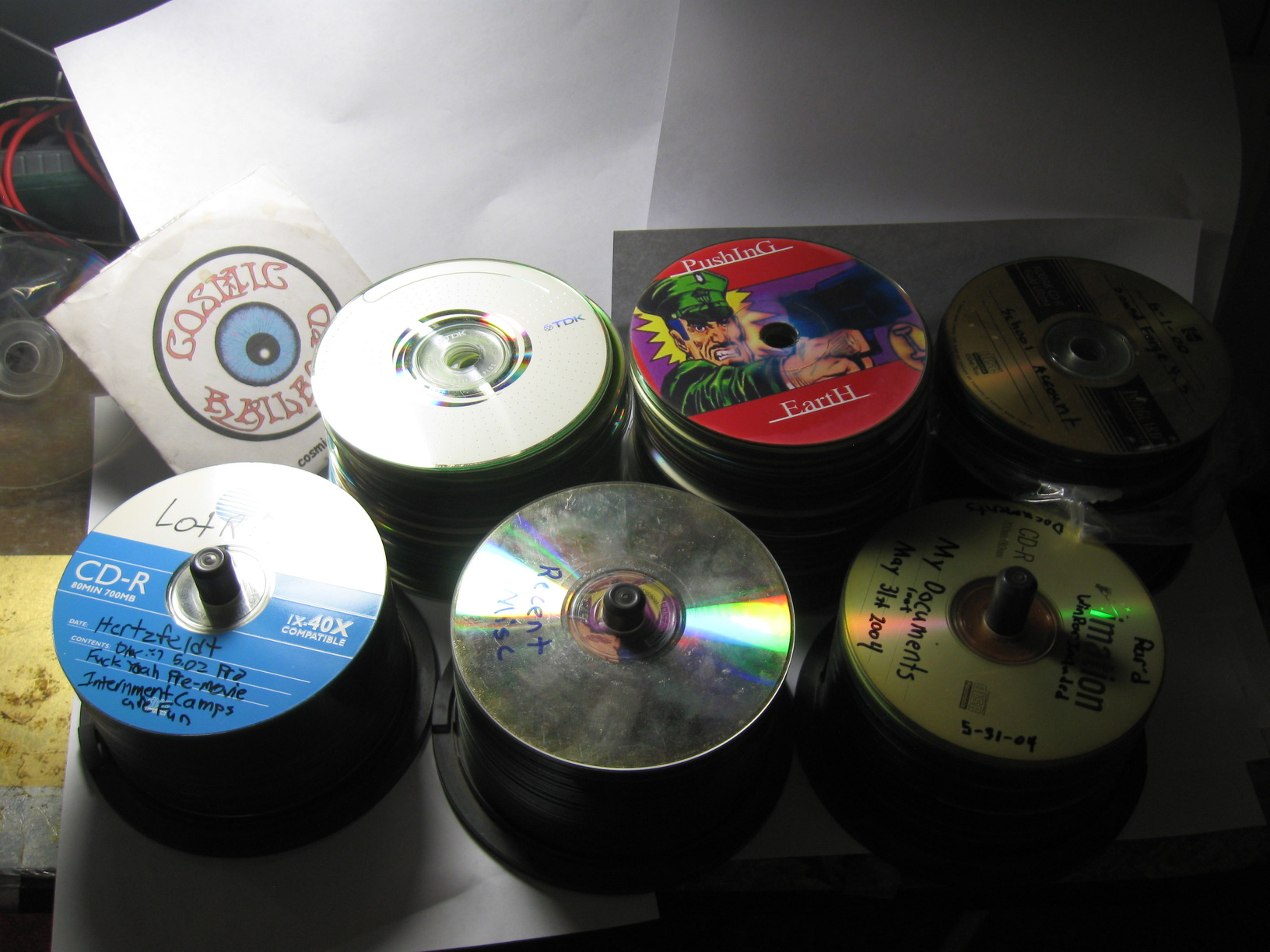 Goodbye to 17 years of optical discs : DataHoarder